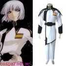 Gundam Seed Lyzak Jule White Uniform Cosplay Costume