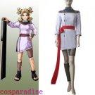 Naruto Temari Chunin Exam Cosplay Costume
