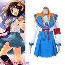 Haruhi Suzumiya Girl's Uniform Asahina Mikuru Cosplay Costume