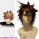 Hitman Reborn Tsunayoshi Sawada Commission Cosplay Wig