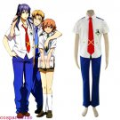 Macross Frontier Mihoshi Academy Uniform Cosplay Costume