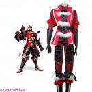Samurai Warriors 2 Ishida Mitsunari Halloween Cosplay Costume