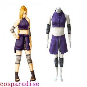 Naruto Shippuden Ino Yamanaka Women's Cosplay Costume