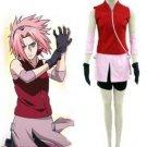 Naruto Haruno Sakura Deluxe Cosplay Costume