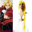 Fullmetal Alchemist Edward Elric 1m Cosplay Wig
