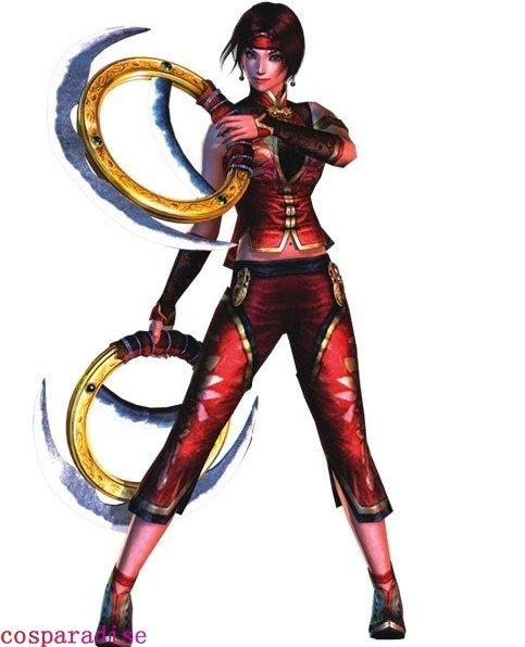 Dynasty Warriors Sun Shang Xiang Cosplay Costume