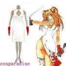 Ikki Tousen Sonsaku Hakufu Cosplay Costume