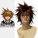 Kingdom Hearts II Sora SPIKY Cosplay Wig