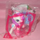 My Little Pony 2012 Rarity Happy Meal Toy MIP
