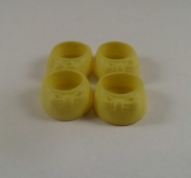My Little Pony Adult Yellow Bow Shoes