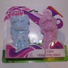 My Little Pony G4 2 Pack Pony Chalk - Blue Purple