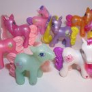 My Little Pony 2005 Full Set 8 Happy Meal Toys