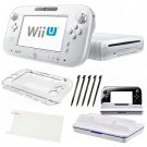 NINTENDO WII U WHITE 8GB HOLIDAY BUNDLE
