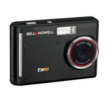 BELL+HOWELL T90HD-BK 12 MP DIGITAL CAMERA WITH 2.7-INCH LCD TOUCHSCREEN & HD VIDEO