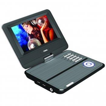 "NAXA 7"" TFT LCD SWIVEL SCREEN PORTABLE DVD PLAYER WITH USB/SD/MMC INPUTS"