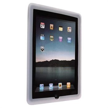 APPLE IPAD 2 WHITE SILICONE CASE COVER FOR 2G 2ND