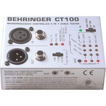 BEHRINGER CT100 CABLE ANALYZER - CT100