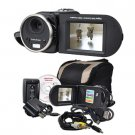 MITSUBA : 16MP (INTERPOLATED) SD/SDHC DIGITAL CAMCORDER W/8X DIGITAL ZOOM & more - DV3000BLK