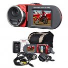 MITSUBA: 16MP  DIGITAL CAMCORDER W/8X DIGITAL ZOOM (RED) DV3000RED