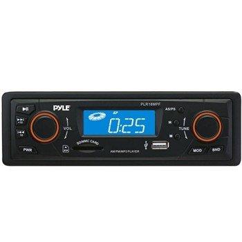 PYLE PLR18MPF IN-DASH AM/FM-MPX RECEIVER MP3 PLAYBACK W/ USB/SD CARD (Model: PLR18MPF)