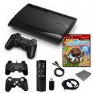 PLAYSTATION 3 SLIM 250GB HOLIDAY STARTER BUNDLE WITH WHEEL, DANCE PAD, AND MORE