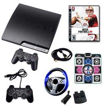PLAYSTATION 3 160GB MEGA HOLIDAY BUNDLE (PS3-160GB-MEGA-HOLIDAY)