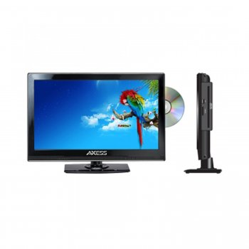 "Axcess TVD1801-13 13.3"" LED AC/DC TV WITH DVD PLAYER FULL HD"