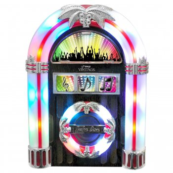 PYLE TABLETOP RETRO JUKEBOX FOR IPOD, IPHONE, ANDROID (PJCDUB25)