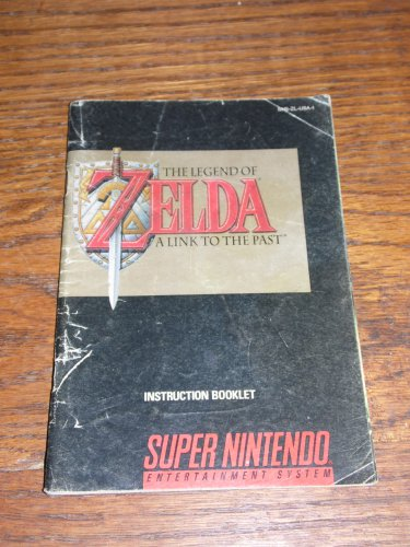 SNES Legend of Zelda: A Link to the Past MANUAL