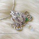 Princess Crown Sparkling Crystal Necklace