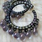 Seductive Black Drops Earrings