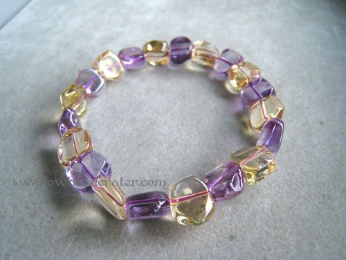 Small Free Form Ametrine Bracelet