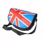 MB-B016-BLUE[Union Jack Flag - Blue] Multi-Purposes Messenger Bag / Shoulder Bag