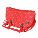 MB-L8028-RED [Lucky Star - Red] Multi-Purposes Messenger Bag / Shoulder Bag