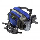 FP-WY003-BLUE[Prussian Blue] Multi-Purposes Fanny Pack / Back Pack / Travel Lumbar Pack