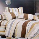mf01067-1 [Shale] 100% Cotton 3PC Comforter Cover/Duvet Cover Combo (Twin Size)