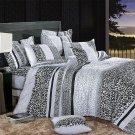 MF01071-1 [Snow Leopard] 100% Cotton 3PC Comforter Cover/Duvet Cover Combo (Twin Size)