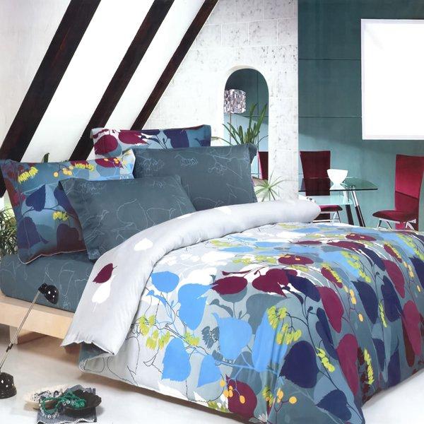 CFRS(MF24-1/CFR01-1) [Grapevine Leisure] Luxury 6PC MEGA Comforter Set Combo 300GSM (Twin Size)