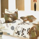 BIAB(MH62-1/CFR01-1/PLW01x1) [Brown Chestnut] 5PC Bed In A Bag Combo 300GSM (Twin Size)