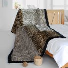 ONITIVA-BLK-077 [Sex And The City] Animal Style Patchwork Throw Blanket (61 by 86.6 inches)