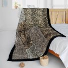 ONITIVA-BLK-086 [Fanstaty] Animal Style Patchwork Throw Blanket (61 by 86.6 inches)