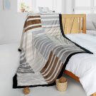ONITIVA-BLK-090 [Chic Life] Stylish Patchwork Throw Blanket (61 by 86.6 inches)