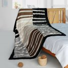 ONITIVA-BLK-096 [Art of Life] Patchwork Throw Blanket (61 by 86.6 inches)