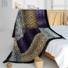 ONITIVA-BLK-098 [Minimalism] Patchwork Throw Blanket (61 by 86.6 inches)