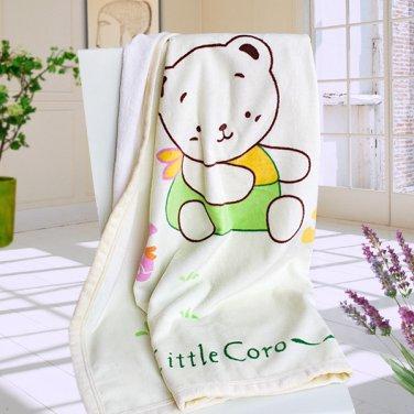 XY-BLK001 [Little Bear Coro] Polar Fleece Throw Blanket (33.5 by 45.3 inches)