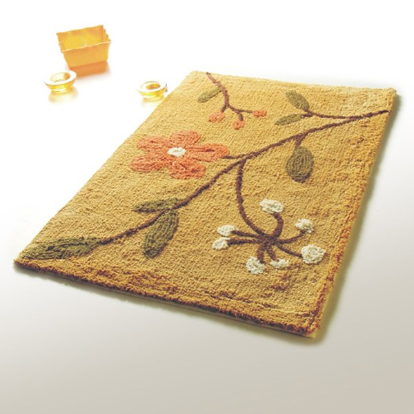 NAOMI-DA5071 [Spring Flowers] Luxury Home Rugs (19.7 by 31.5 inches)