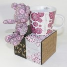 SYNC-GK12 [Flower Pink] Stuffed Bear Mug (3.3 inch height)