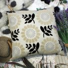 BETTINO-FJ-003 [Sun flower] Decorative Pillow Cushion / Floor Cushion (23.6 by 23.6 inches)