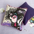 ONITIVA-DP003 [Magician] Cotton Decorative Pillow Cushion  (19.7 by 19.7 inches)