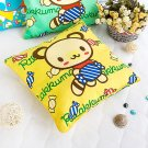 BN-DP001 [Yellow Candy Bear] Decorative Pillow Cushion / Floor Cushion (15.8 by 15.8 inches)